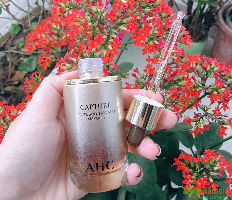 Đánh giá tinh chất chống lão hóa AHC Capture Revite