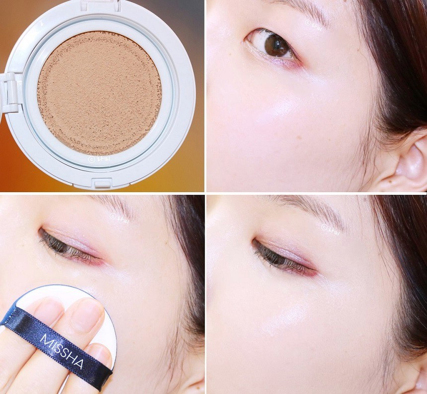 Set Phấn Missha M Magic Cushion Cover Lasting Spf50 Pa