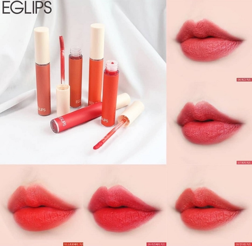 Son Eglips Velvet Fit Tint Ver 2 Cream Cheese Series
