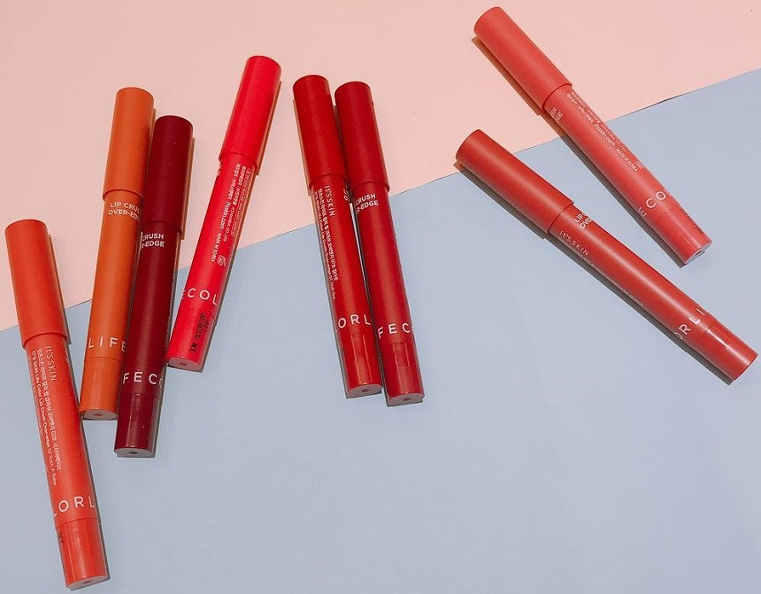Son bút chì It's Skin Life Color Lip Crush Over Edge