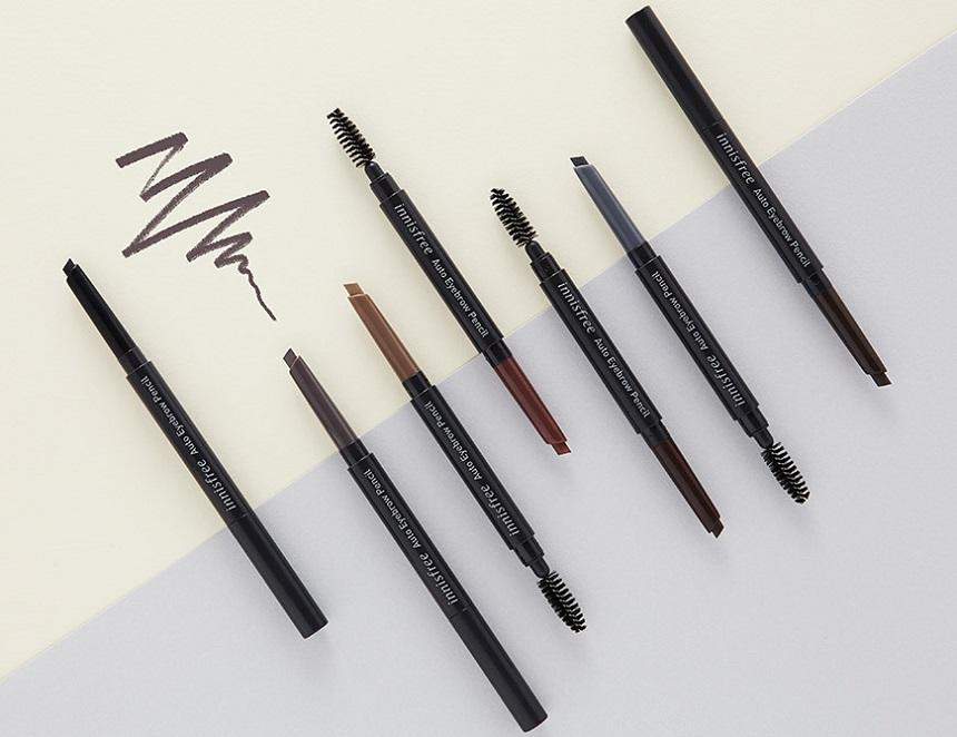 Chì kẻ mày 2 đầu Innisfree Auto Eyebrow Pencil - 2 đầu tiện dụng, 7 màu sắc bắt mắt...