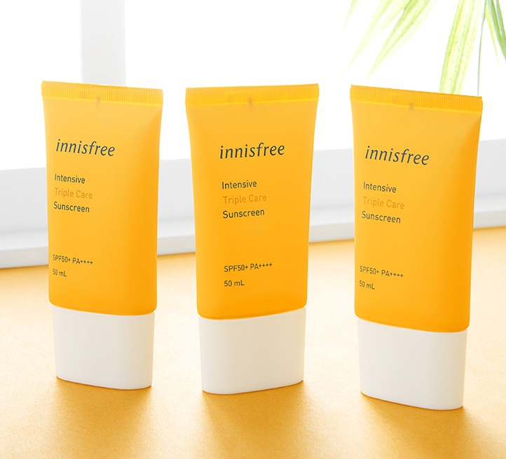 Kem chống nắng Innisfree Intensive Triple Care Sunscreen SPF50+ PA++++