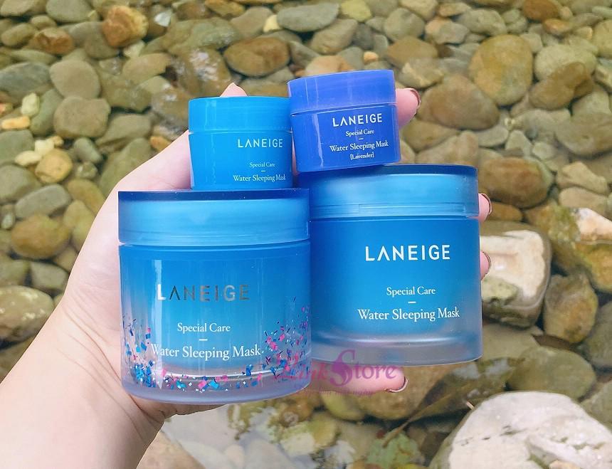 Mặt nạ ngủ Laneige Water Sleeping Mask - Dưỡng ẩm, dưỡng sáng da trong lúc ngủ...