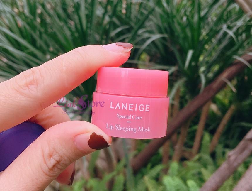 Mặt nạ ngủ môi Laneige Lip Sleeping Mask - Mặt nạ ngủ chuyên biệt dành cho môi!
