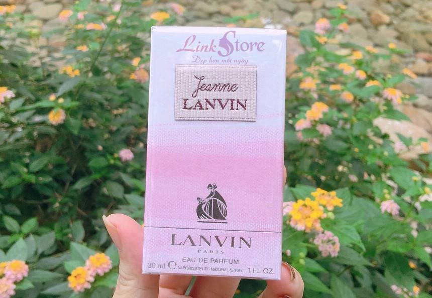 Nước hoa Jeanne Lanvin - Hương thơm hoa cỏ hấp dẫn khó rời...