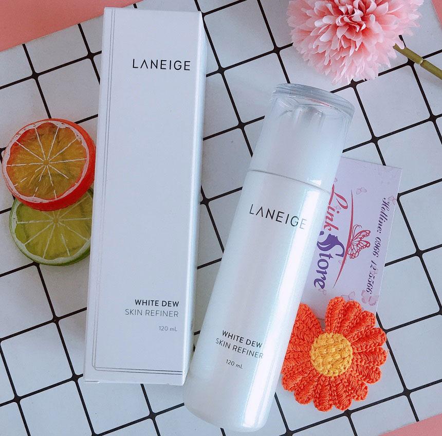 Nước hoa hồng Laneige White Dew Skin Refiner
