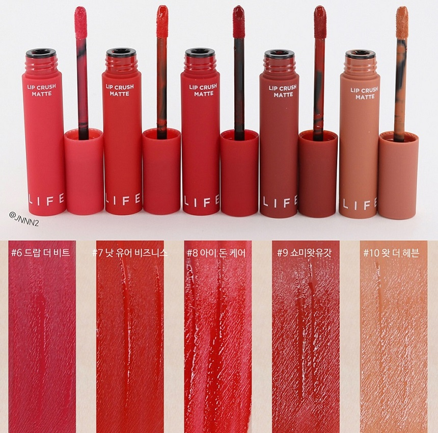Son kem It's Skin Life Color Lip Crush Matte