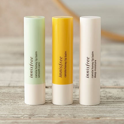 son innisfree canola honey lip balm