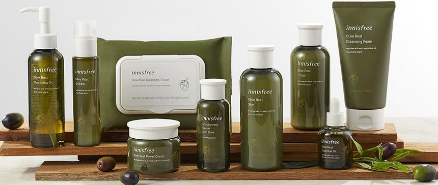 Sữa rửa mặt Innisfree Olive Real Cleansing Foam - Sữa rửa mặt dưỡng ẩm, chiết xuất Ô-liu nguyên chất...