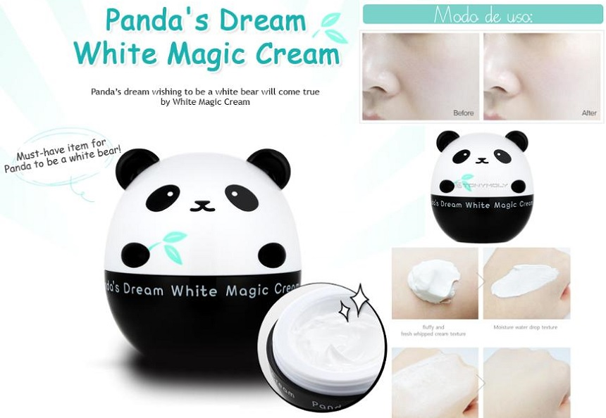 Kem dưỡng trắng Tonymoly Panda's Dream White Magic Cream