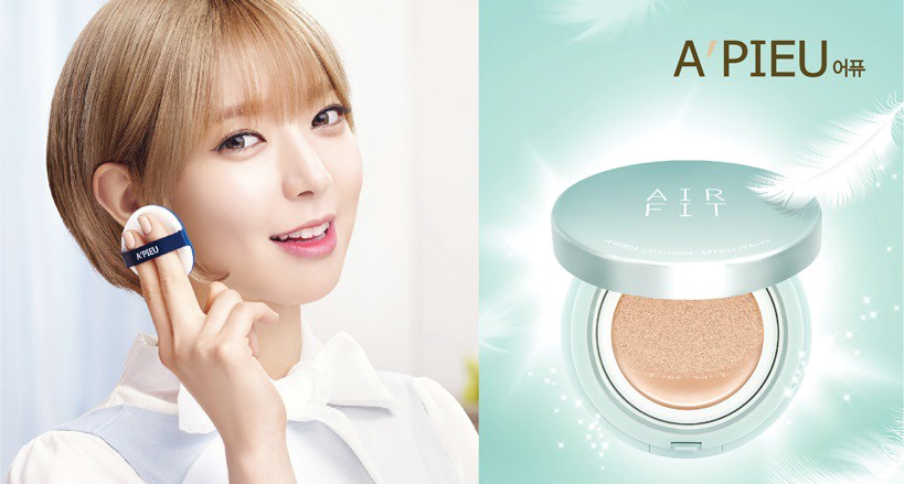 Phấn nước Apieu Air Fit Cushion SPF50+ PA+++