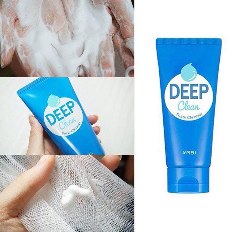 Sữa rửa mặt Apieu Deep Clean Foam Cleanser