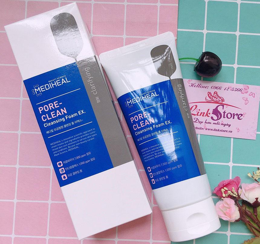 Mediheal Pore-Clean Cleansing Foam EX