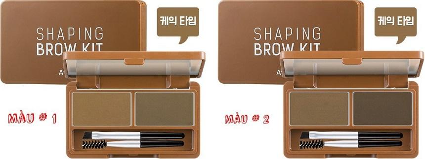 Tán lông mày A'pieu Shaping Brow Kit