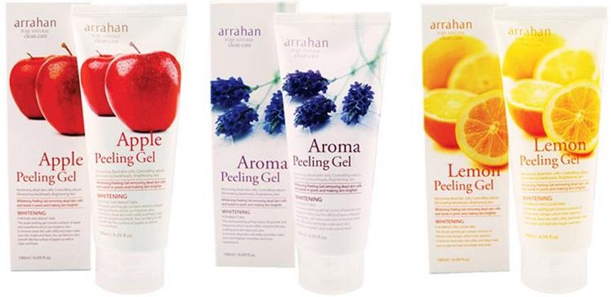 Tẩy da chết hoa quả Arrahan Whitening Peeling Gel