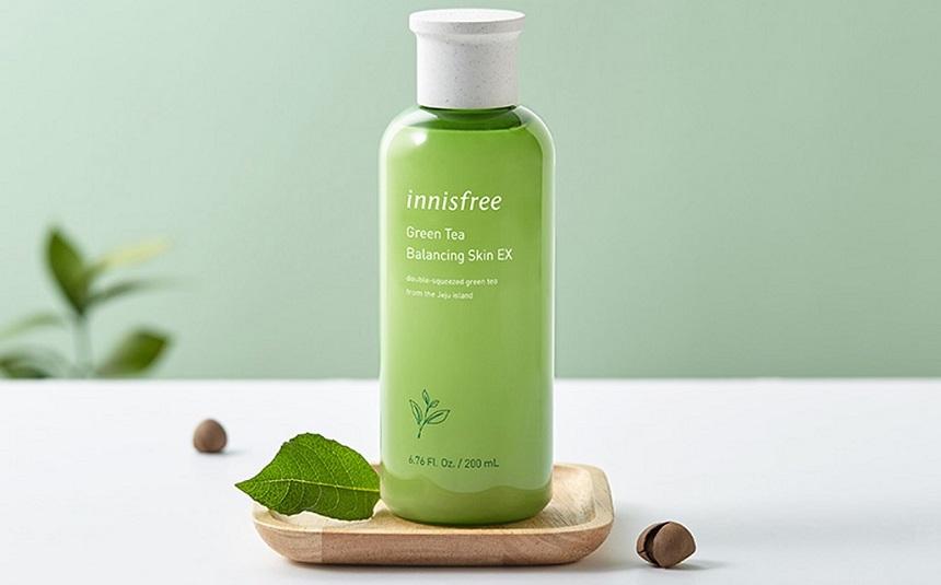 Nước hoa hồng trà xanh Innisfree Green Tea Balancing Skin EX