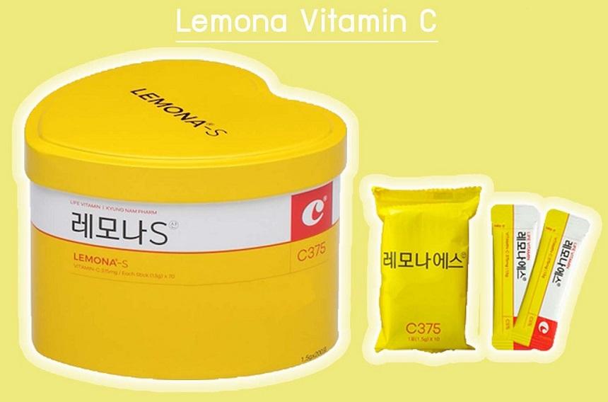 Vitamin C Lemona-S 375mg - Hộp 70 gói, mỗi gói 1,5g tiện dụng!