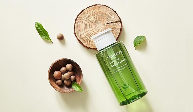 Các sản phẩm trà xanh Innisfree: Các sản phẩm làm sạch da