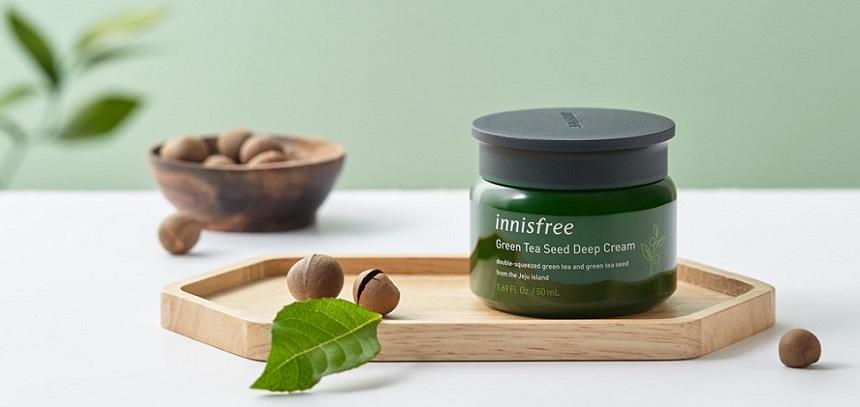 Kem dưỡng trà xanh cao cấp Innisfree Green Tea Seed Deep Cream