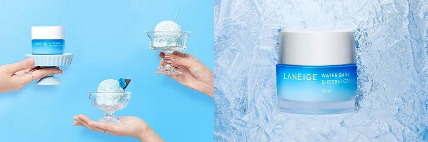 Kem dưỡng Laneige Water Bank Sherbet Cream - Dưỡng ẩm da mát lạnh!