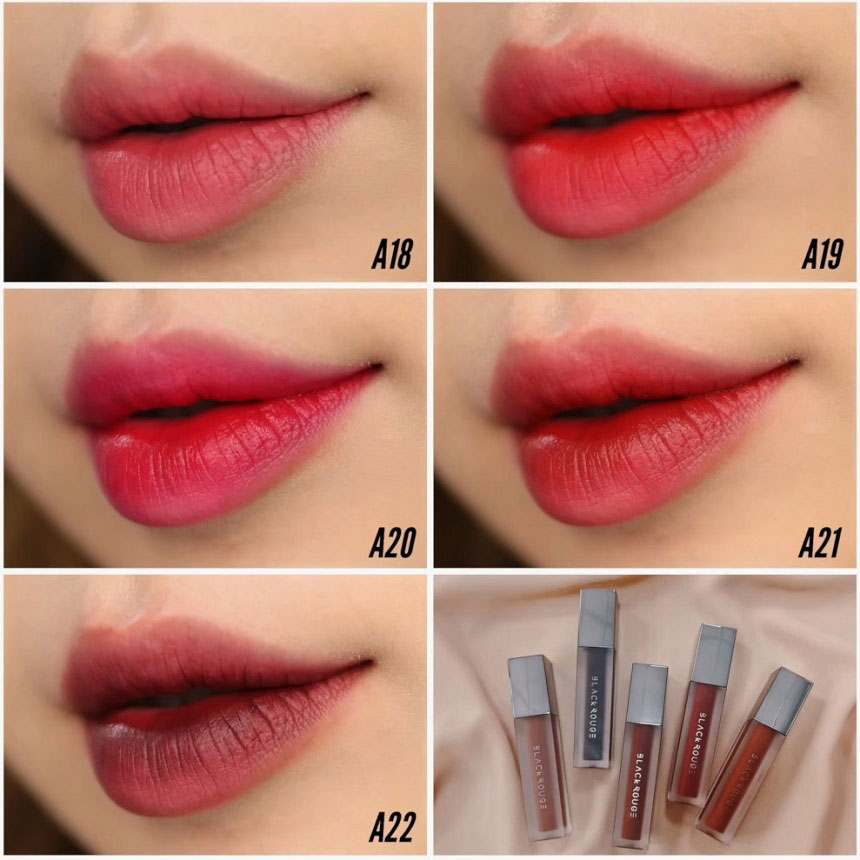 Son Black Rouge Air Fit Velvet Tint Version 4 Bad Rose - Phiên bản thứ 4 của dòng Air Fit Velvet Tint!