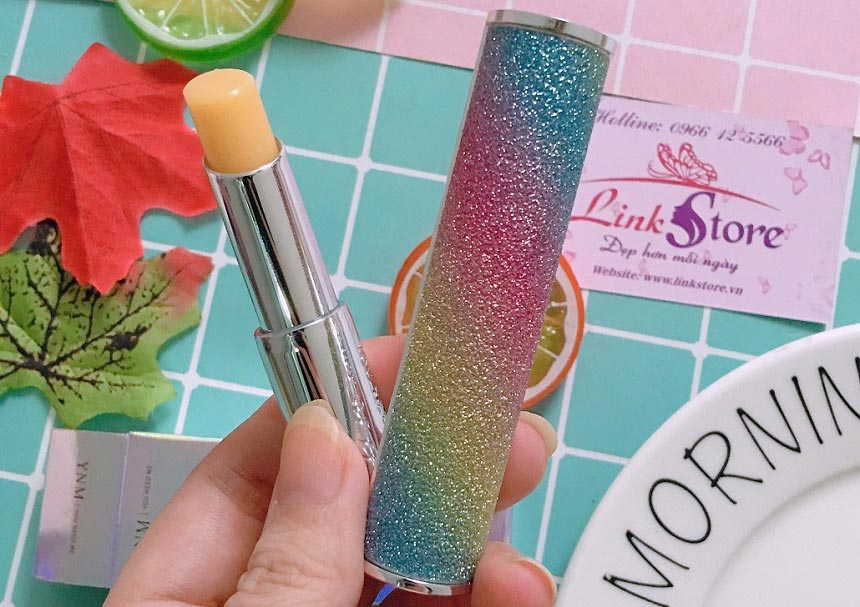 Son dưỡng YNM Rainbow Honey Lip Balm - Son dưỡng đổi màu, thành phần tự nhiên lành tính...