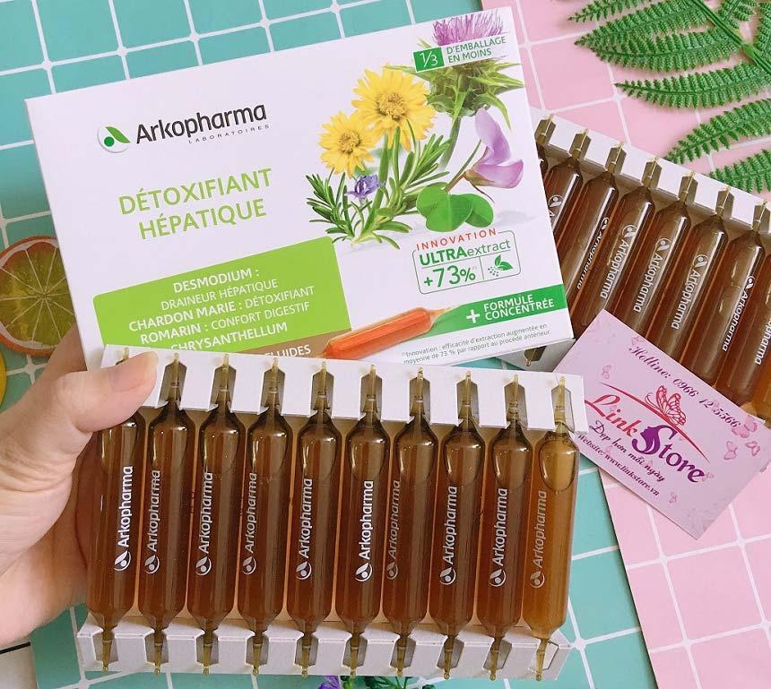Giải độc gan Arkopharma Detoxifiant Hepatique - Thành phần hoàn toàn tự nhiên, giải độc, thanh lọc gan hiệu quả...