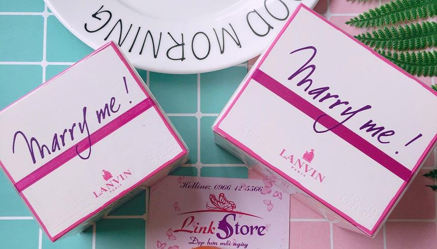 Nước hoa Lanvin Marry Me Eau De Parfum - Êm dịu, nữ tính, gợi lên những giấc mơ nhẹ nhàng về tình yêu...