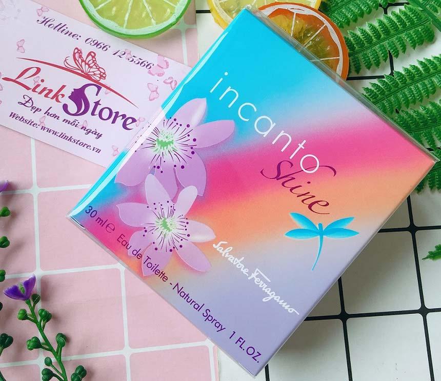 Nước hoa Salvatore Ferragamo Incanto Shine - Hương thơm tự nhiên và ngọt ngào của các loại trái cây và hoa cỏ...