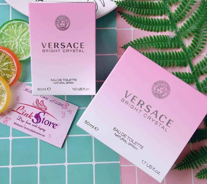 Nước hoa Versace Bright Crystal - Hương thơm dịu mát, lôi cuốn cho một vẻ đẹp thanh lịch...