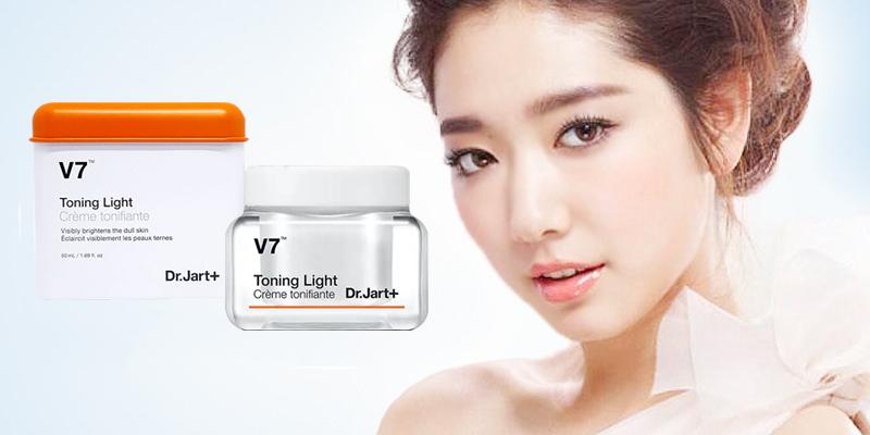 Kem dưỡng Dr.Jart+ V7 Toning Light - Dưỡng trắng, tái tạo da, trị thâm nám hiệu quả...