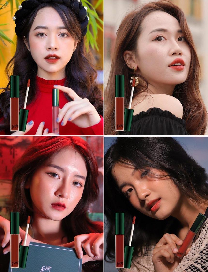 Son kem lì Bbia Last Velvet Lip Tint Asia Edition - Son lì mềm mịn, dành riêng cho châu Á...