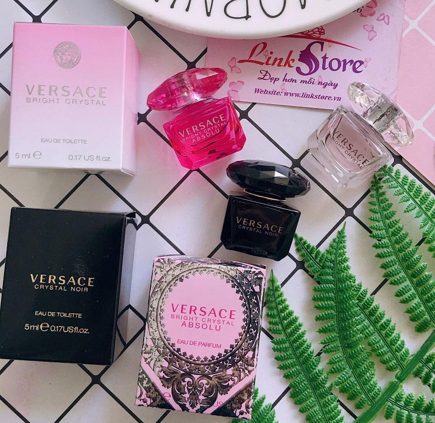 Nước hoa Versace Bright Crystal Absolu - Nước hoa nữ với mùi hương gợi cảm...
