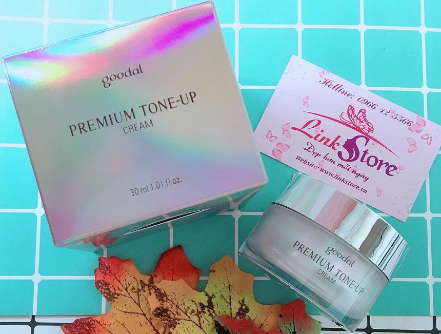 Kem dưỡng Goodal Premium Tone Up Cream - Dưỡng trắng, mờ thâm nám, giảm nếp nhăn...