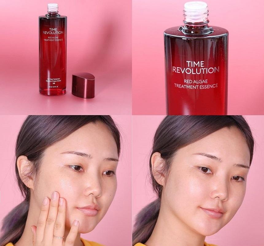 Tinh chất nước thần Misha Time Revolution Red Algae Treatment Essence - Chống lão hóa, dưỡng trắng hiệu quả...