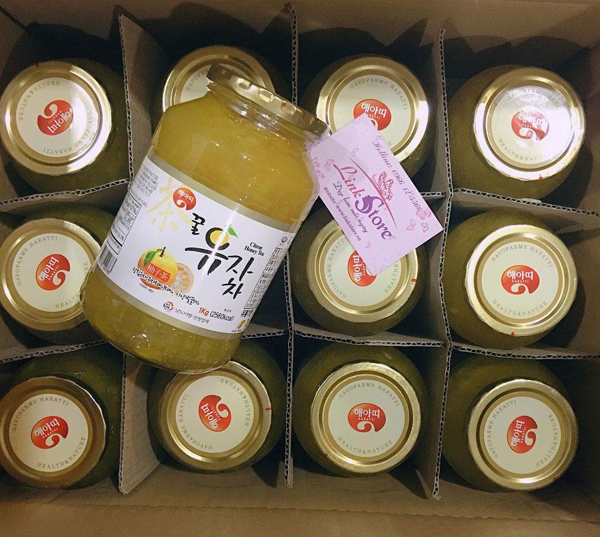 Mật ong chanh Hàn Quốc
