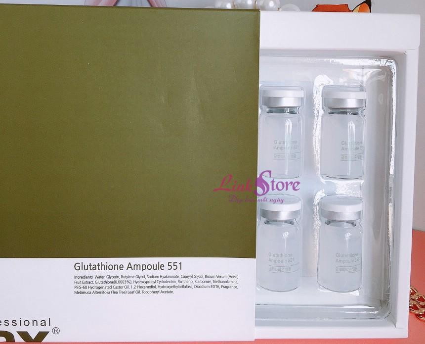Tế bào gốc Esthemax Glutathione Ampoule 551