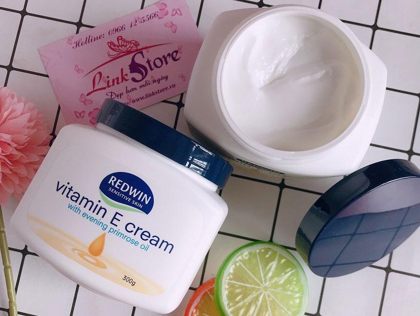 Kem dưỡng Redwin Vitamin E Cream - Dưỡng ẩm sâu, giúp da mềm mịn...