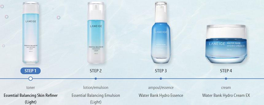 Nước hoa hồng Laneige Essential Balancing Skin Refiner Light