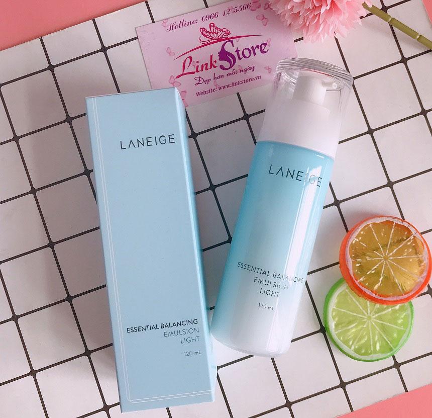 Sữa dưỡng Laneige Essential Balancing Emulsion Light